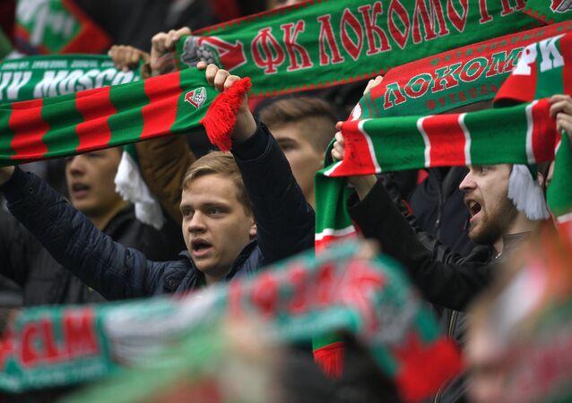 Hinchas del club Lokomotiv Moscú (archivo)