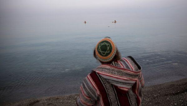 El mundo puede quedarse sin el mar Muerto - Sputnik Mundo