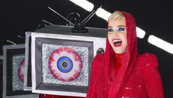 La cantante estadounidense Katy Perry (archivo) - Sputnik Mundo