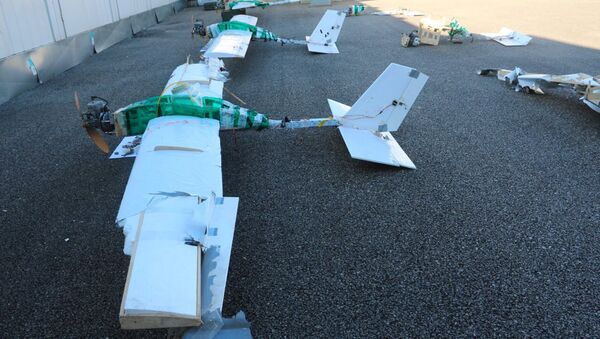 Un dron militar usado en ataque contra la base rusa en Siria - Sputnik Mundo