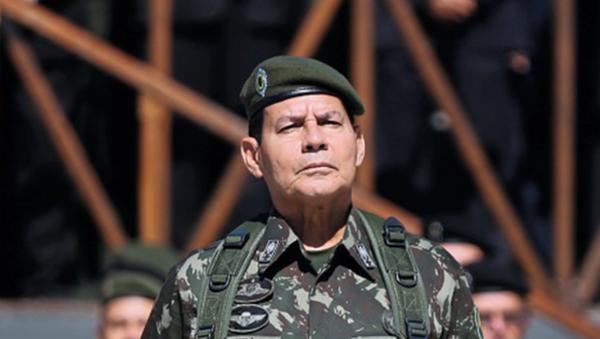 El general brasileño Antonio Hamilton Mourão - Sputnik Mundo