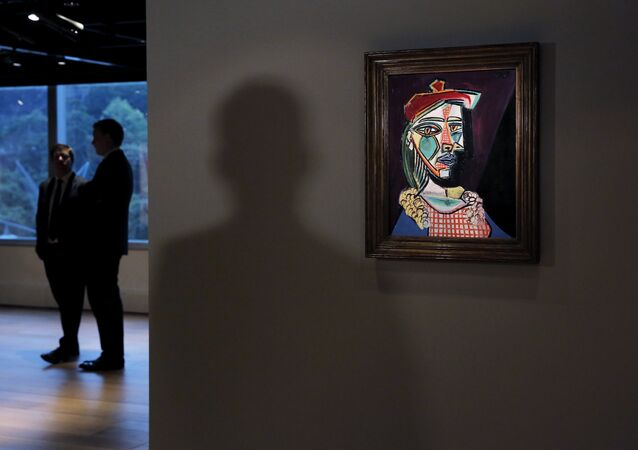 El retrato 'Mujer con boina y vestido de cuadros' de Picasso