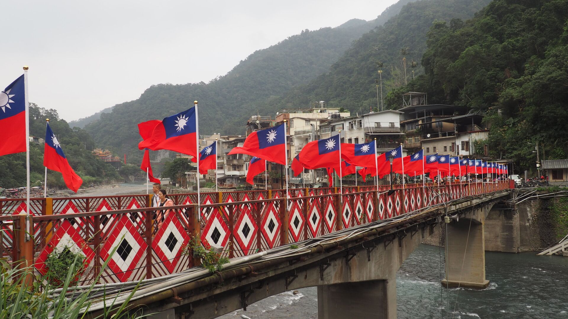 Banderas de Taiwán - Sputnik Mundo, 1920, 10.08.2021