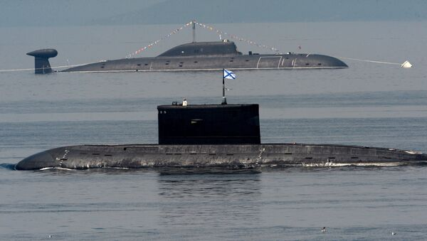 Submarinos rusos (imagen referencial) - Sputnik Mundo