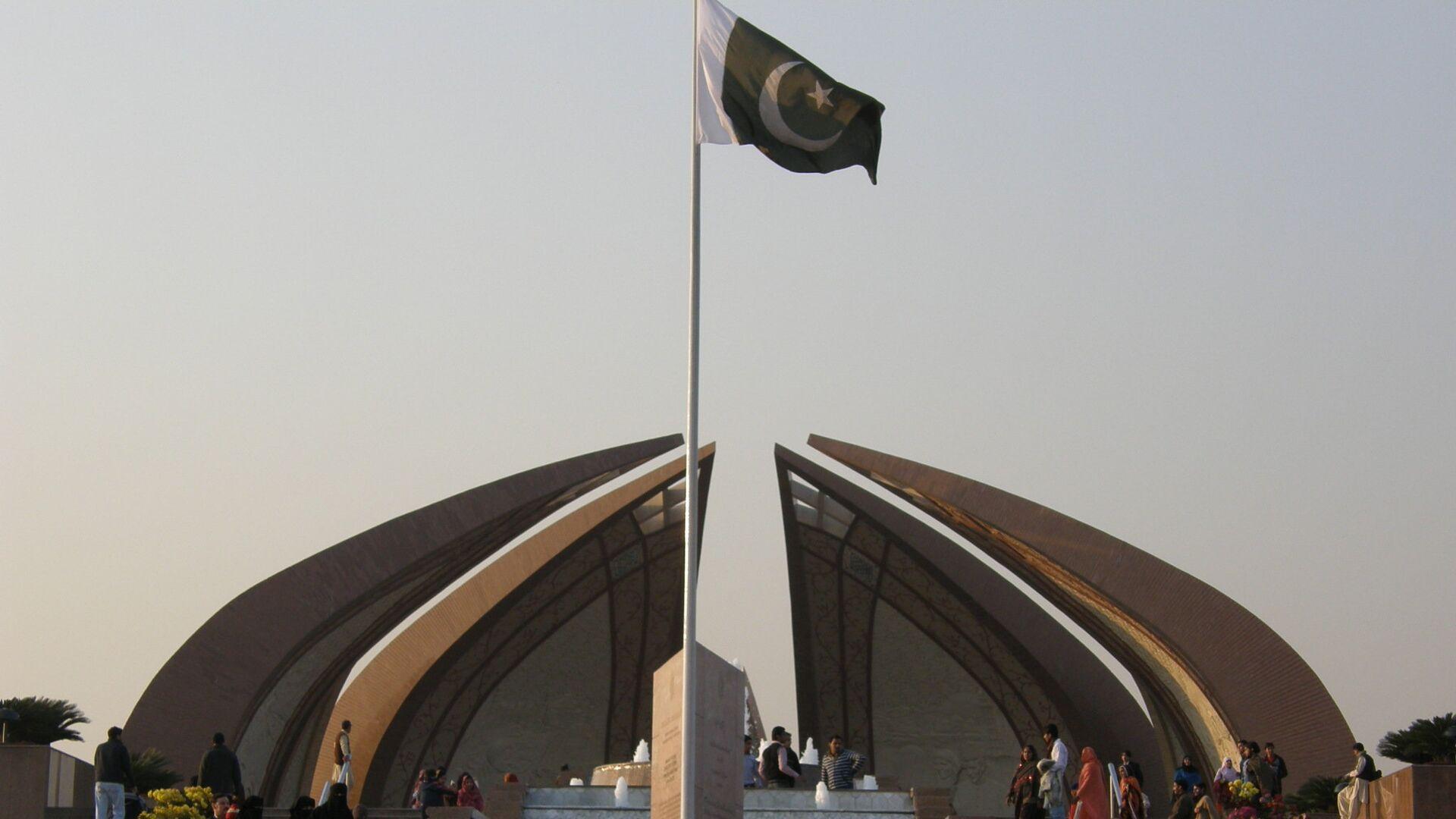 Bandera de Pakistán en Islamabad - Sputnik Mundo, 1920, 29.03.2021