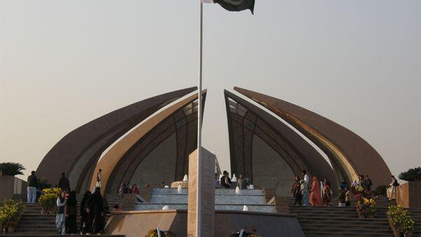 Bandera de Pakistán en Islamabad - Sputnik Mundo