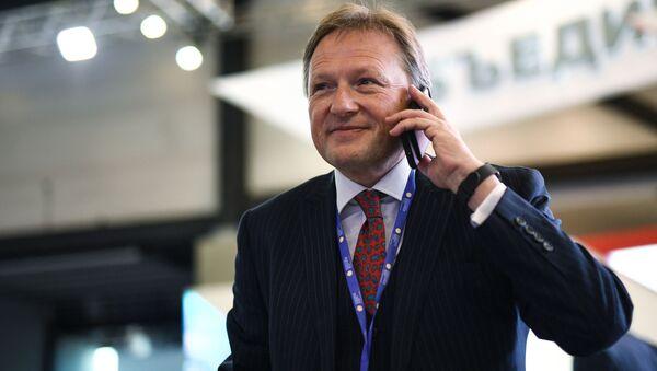 El Defensor del Empresariado ruso, Borís Titov, en el Foro Económico Internacional de San Petersburgo en 2017 - Sputnik Mundo