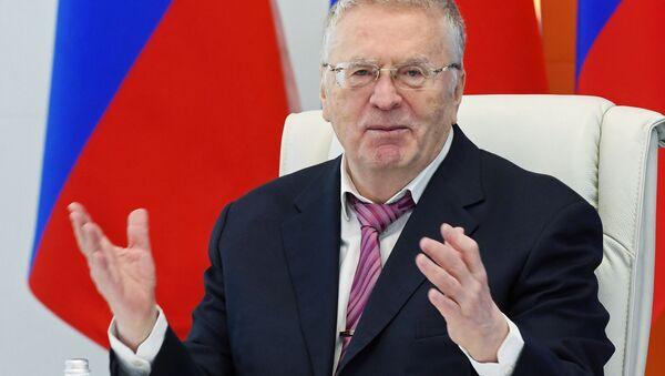 Vladímir Zhirinovski, líder del Partido Liberal Democrático de Rusia - Sputnik Mundo