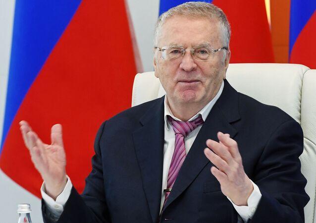 Vladímir Zhirinovski, líder del Partido Liberal Democrático de Rusia