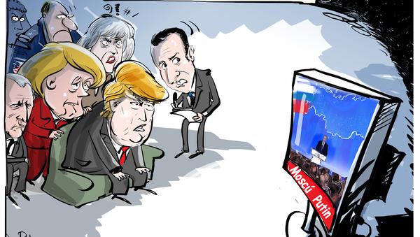 El mensaje anual de Putin ante la Asamblea Federal - Sputnik Mundo