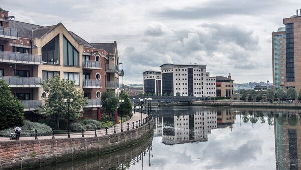 Belfast, la capital de Irlanda del Norte  - Sputnik Mundo