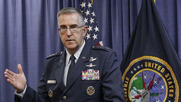 Jefe del Comando Estratégico de las Fuerzas Armadas de EEUU, John Hyten - Sputnik Mundo