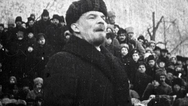 Vladímir Lenin, principal dirigente de la Revolución de Octubre de 1917 y líder de la URSS - Sputnik Mundo
