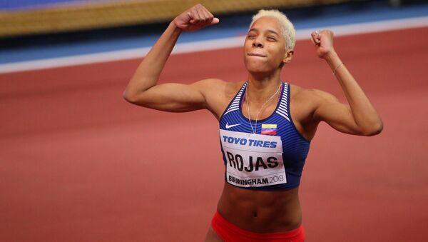 La atleta venezolana Yulimar Rojas - Sputnik Mundo