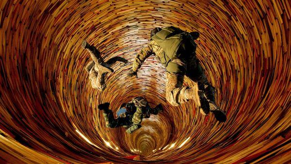Una guerra, imagen referencial - Sputnik Mundo
