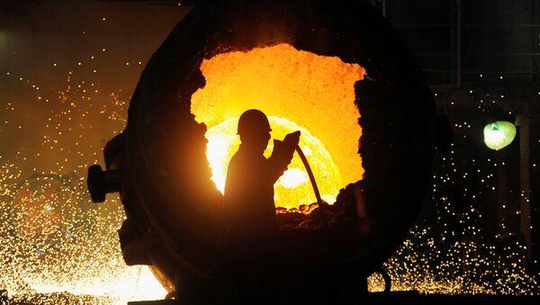 Producción de acero (Archivo) - Sputnik Mundo