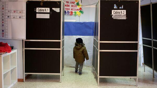 Elecciones en Italia (archivo) - Sputnik Mundo
