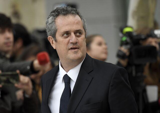 El exconsejero de Interior de la Generalitat (Gobierno catalán), Joaquim Forn