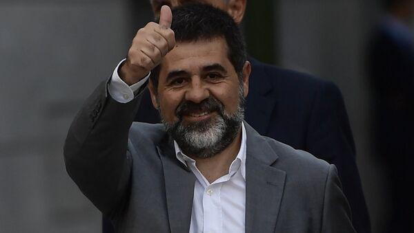 Jordi Sànchez, el expresidente de la Asamblea Nacional Catalana - Sputnik Mundo