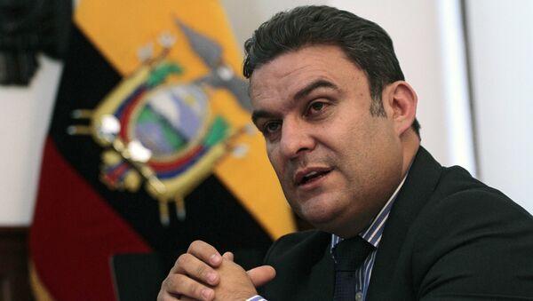 José Serrano, presidente de la Asamblea Nacional de Ecuador (archivo) - Sputnik Mundo