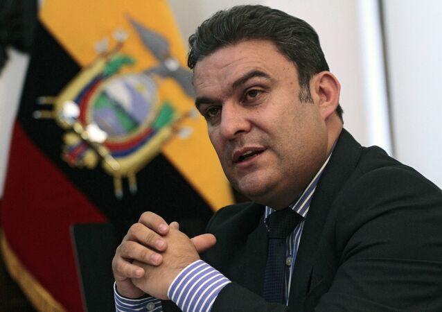 José Serrano, presidente de la Asamblea Nacional de Ecuador (archivo)