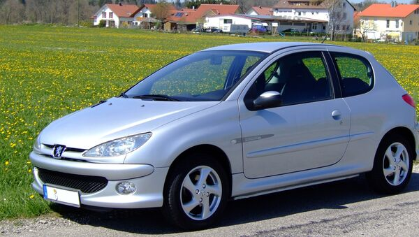 Un Peugeot 206 - Sputnik Mundo