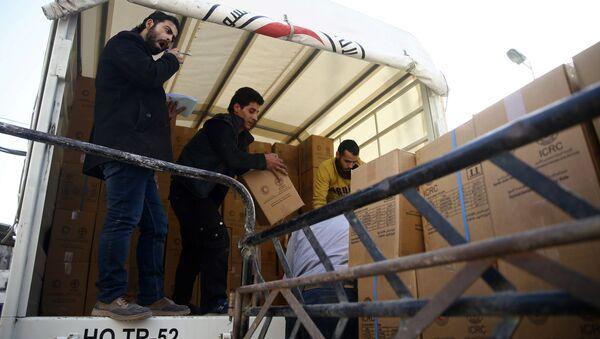 Ayuda humanitaria a Guta Oriental - Sputnik Mundo