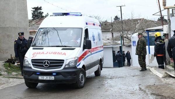 Una ambulancia azerbaiyana - Sputnik Mundo