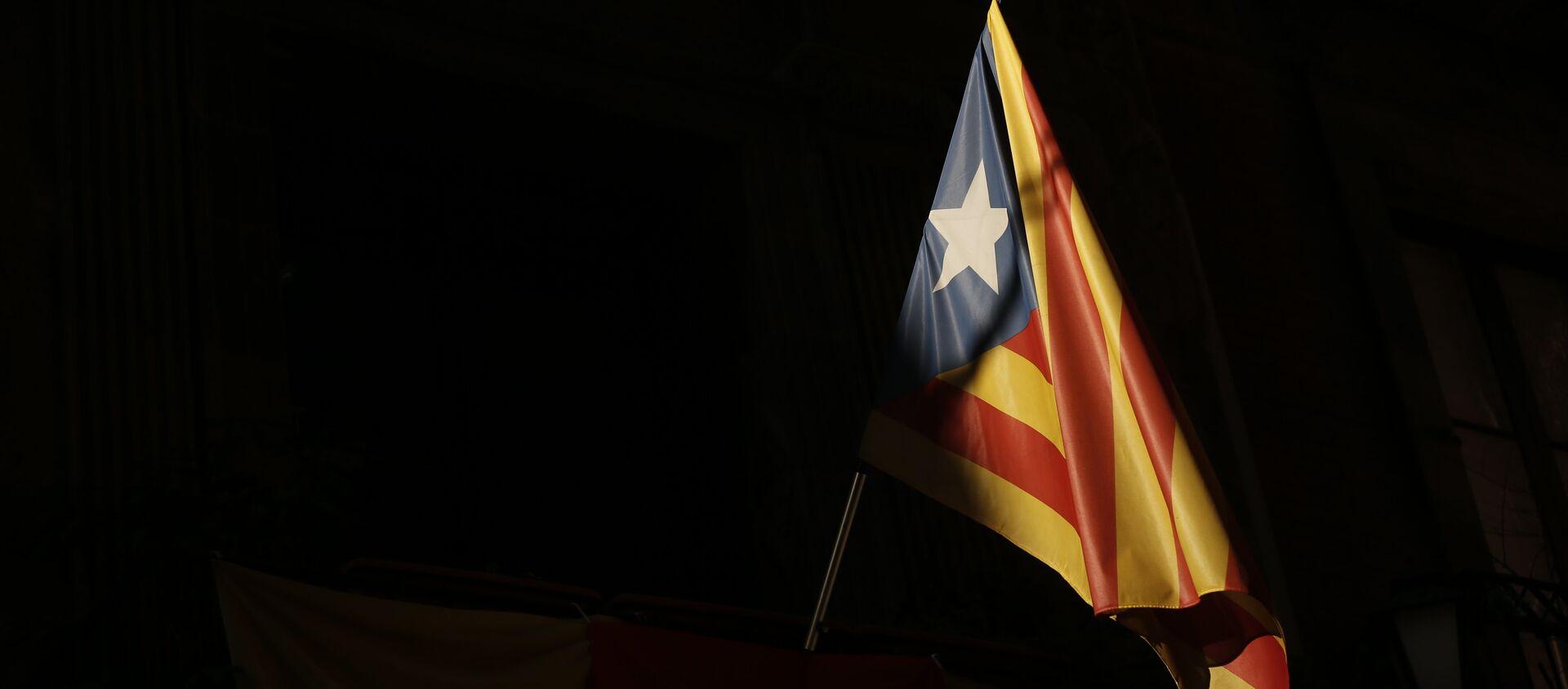 Bandera independentista catalana - Sputnik Mundo, 1920, 27.12.2020