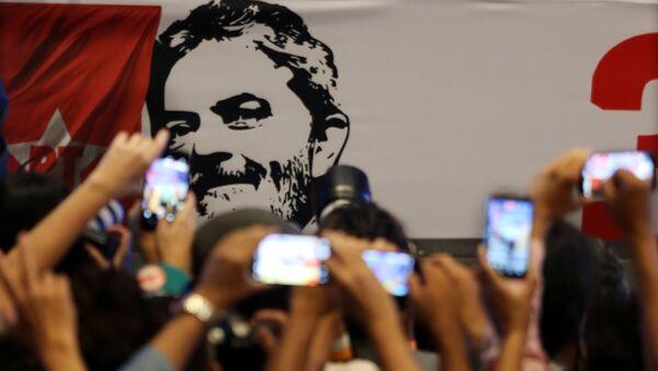 Seguidores del expresidente brasileño, Luiz Inácio Lula da Silva - Sputnik Mundo