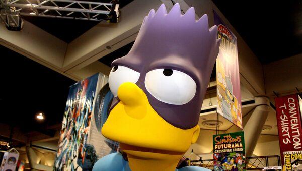 Una figura de Bart Simpson - Sputnik Mundo
