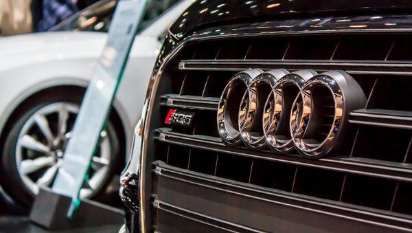 Logo de Audi (imagen referencial) - Sputnik Mundo