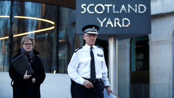 El jefe de la unidad antiterrorista de Scotland Yard, Mark Rowley - Sputnik Mundo