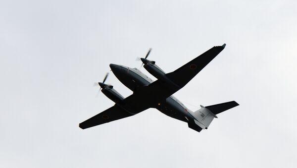 Un aeronave Beechcraft B350 - Sputnik Mundo
