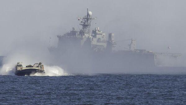 El buque de guerra USS Oak Hill (archivo) - Sputnik Mundo