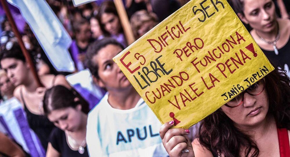 Paro Internacional de Mujeres en Santa Fe, Argentina, 2017