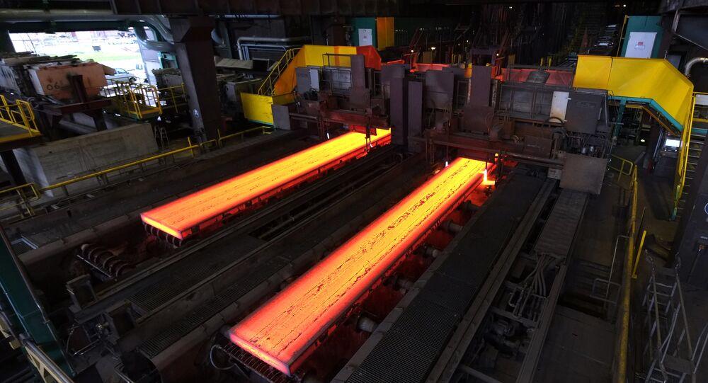 Producción de acero (Archivo)