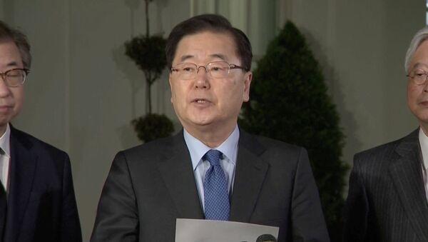 Chung Eui-yong, el consejero de seguridad nacional de Corea del Sur - Sputnik Mundo