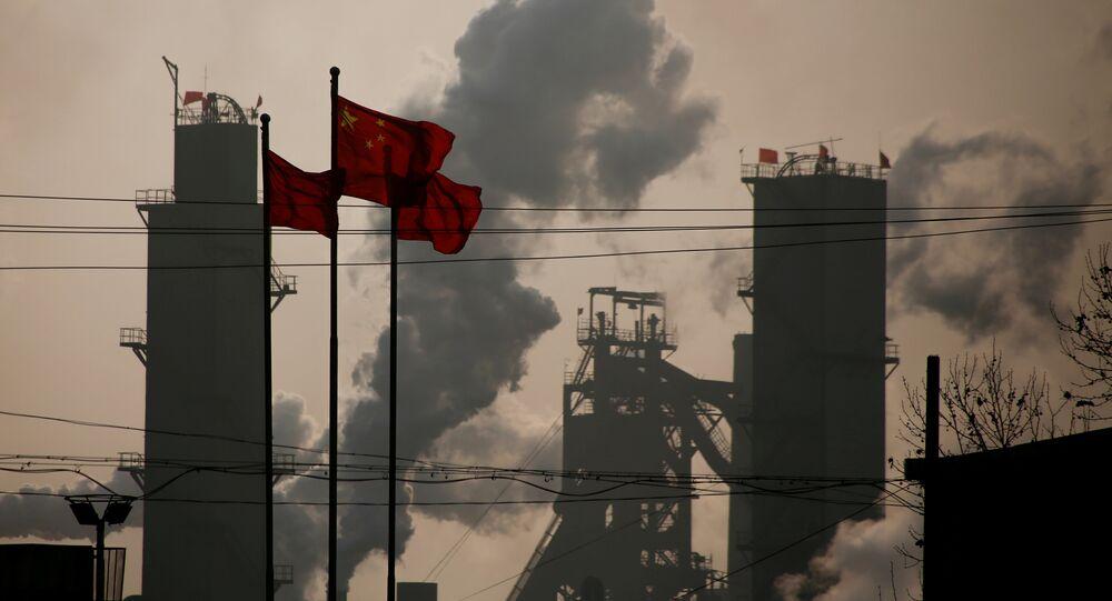 Producción de acero en China (Archivo)