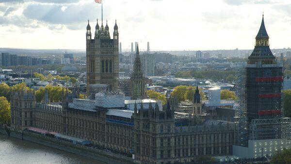 El Palacio de Westminster, en Londres (imagen ilustrativa) - Sputnik Mundo