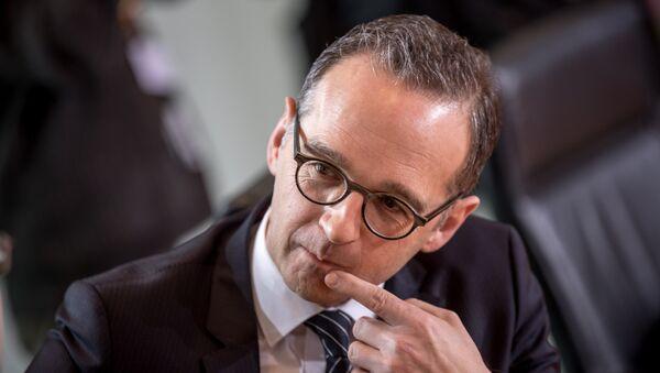 Heiko Maas, ministro de Justicia y futuro ministro de Exteriores de Alemania - Sputnik Mundo