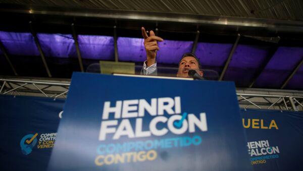 Henri Falcón, candidato presidencial venezolano - Sputnik Mundo