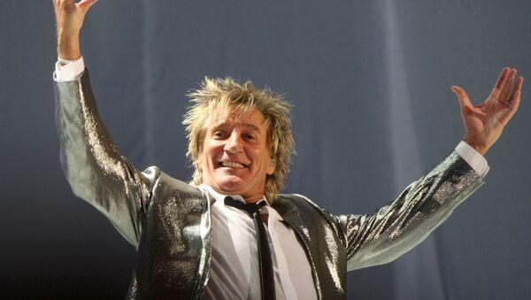 Rod Stewart, cantante británico - Sputnik Mundo