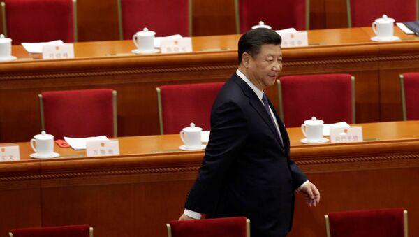 Xi Jinping, presidente chino - Sputnik Mundo