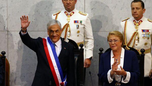 Sebastián Piñera asume la presidencia de Chile - Sputnik Mundo