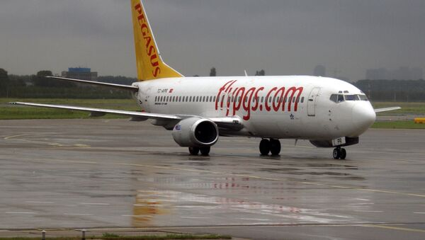 Un avión de Pegasus Airlines - Sputnik Mundo