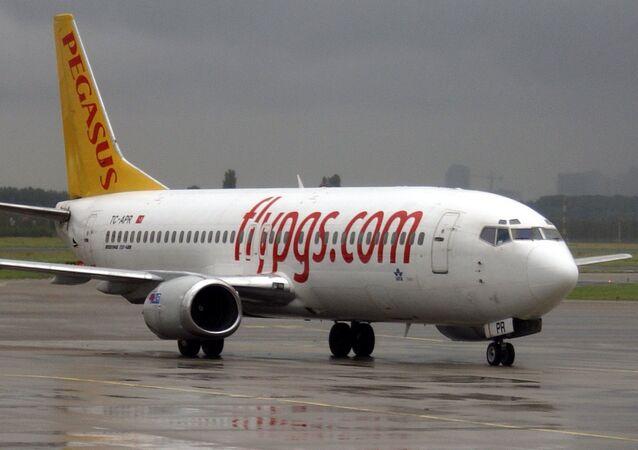 Un avión de Pegasus Airlines