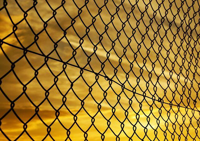 Una valla, imagen referencial