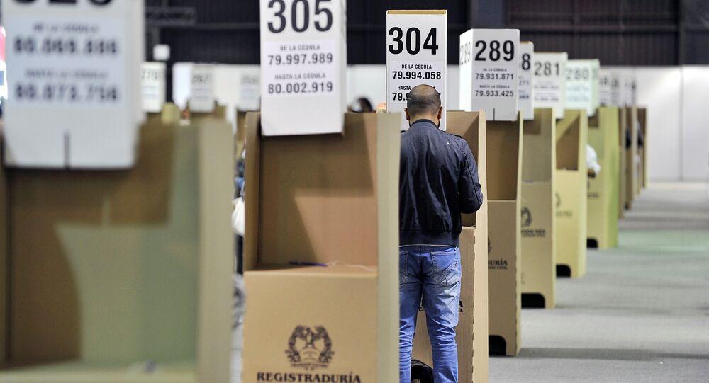 Elecciones legislativas en Colombia