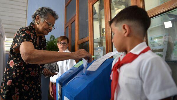 Elecciones en Cuba - Sputnik Mundo